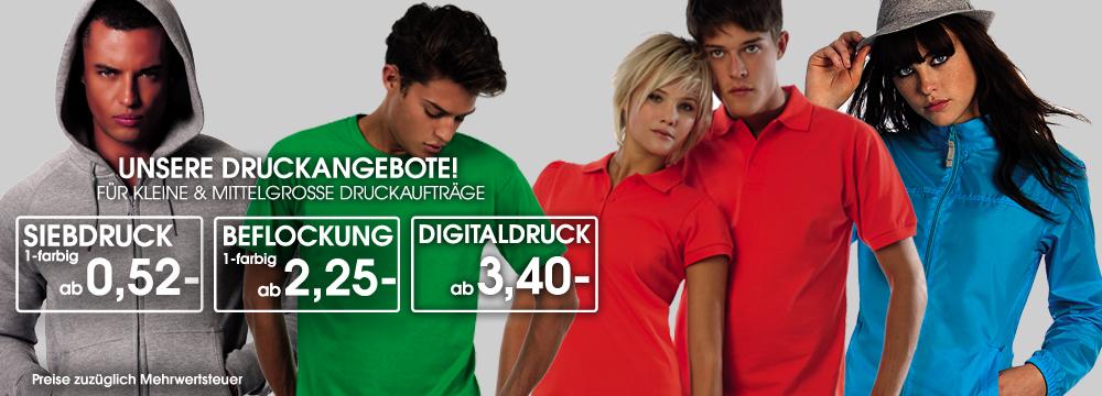 Professioneller Textildruck aus Stuttgart