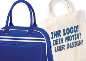 Taschen in vielen Formen und Farben - Ihr Professioneller Textildruck aus Stuttgart